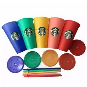 Starbucks Color-Changing Reusable Cold Cups
